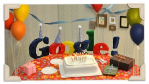 Google becomes a teenager- 13 years old today